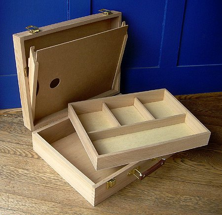 Academy Sparta Wood Pochade Sketch Box by Richeson