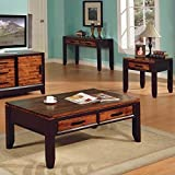 Steve Silver Abaco 3 Piece Set (Coffee Table & 2 End Tables)