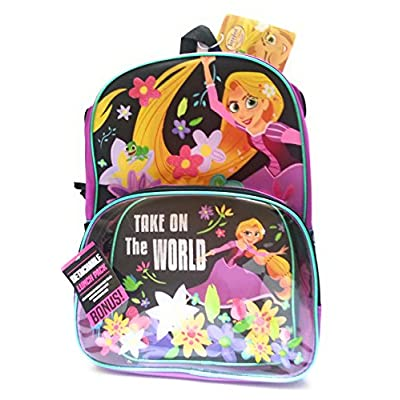 0be26c3a04f 50%OFF Disney Tangled the Series Rapunzel Backpack with Detachable Lunch  Tote