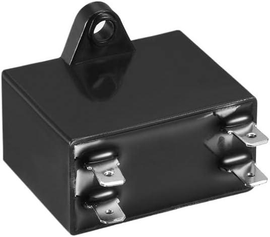2pcs CBB61 condensateur /à Film 450V AC 4uF cosses PP m/étallis/é pour Ventilateur