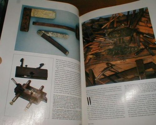 WOODWORKING TOOLS IN EARTLY AMERICA IN ANTIQUES MAGAZINE MAY 1994