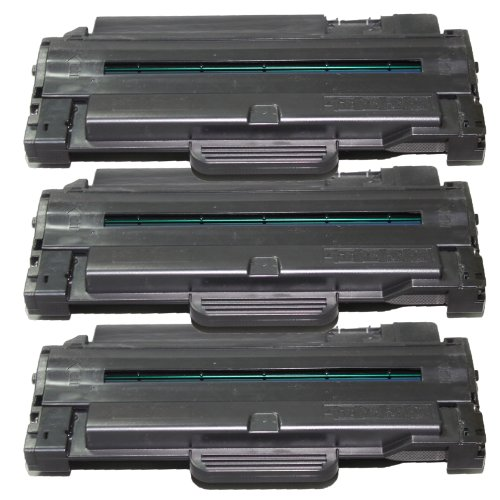 3 Inktoneram Replacement toner cartridges for Samsung D105L replacement for Samsung MLT-D105L High Yield Toner Cartridge SF-650 SF-650P ML-1910 ML-1915 ML-2525 ML-2525W ML-2580N SCX-4600 SCX-4623F SCX-4623FN