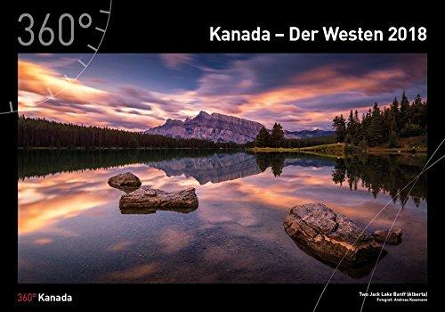 360° Kanada Kalender 2018
