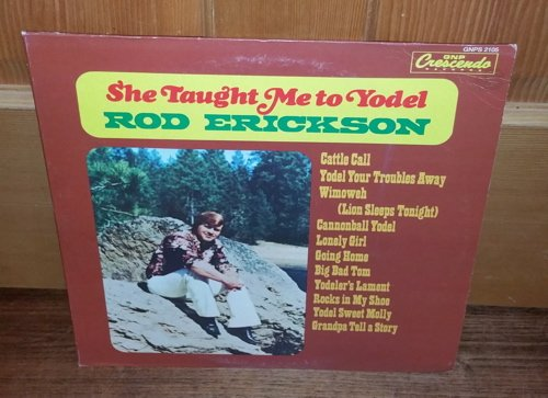 She Taught Me to Yodel [12 inch Analog]                                                                                                                                                                                                                                                    <span class=