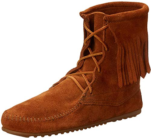 Minnetonka Women's Tramper Ankle Hi Boot,Brown,5 M US
