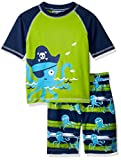 Best Octopus Bathing suits - Wippette Baby Boys' Toddler INF Pelican 2PC Rashguard Review