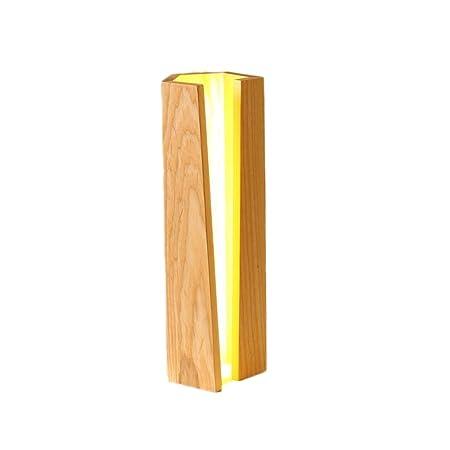 Desinger Soporte para lápiz simple Lámpara de mesa de madera ...