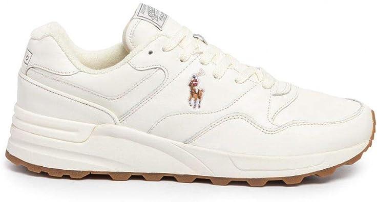 Zapatillas Polo Ralph Lauren Trckstr Pony - Color - Blanco, Talla ...