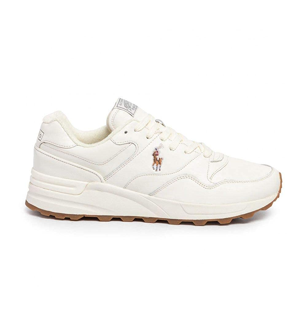 Zapatillas Polo Ralph Lauren Trckstr Pony - Color - Blanco, Talla ...