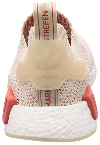 Adidas W Pk r1 footwear Nmd crystal Beige 0 White Donna linen Stlt Sneaker White rIqraxwC