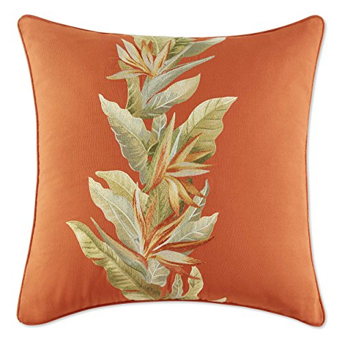 - Tommy Bahama Birds of Paradise Throw Pillow, 20-inch, Coconut