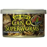 Zoo Med Can O' Super Worms, 1.2-Ounce