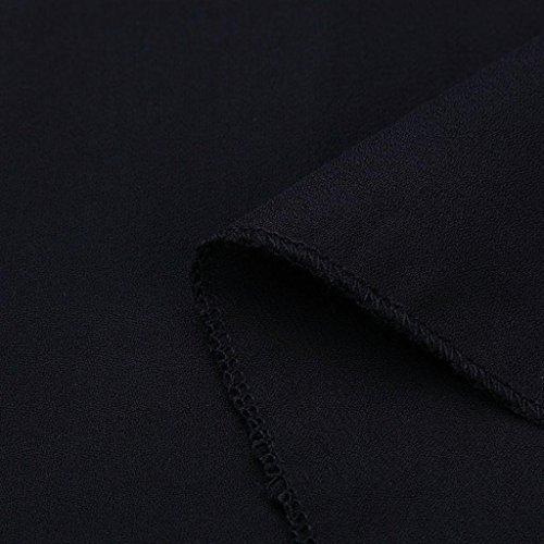 Kanpola Des Femmes De Dames Robe Sexy Camisole Été Harnes Sans Manches Robes Dos Nu En Vrac Du Parti De La Taille De Pluse Moulante B-noir