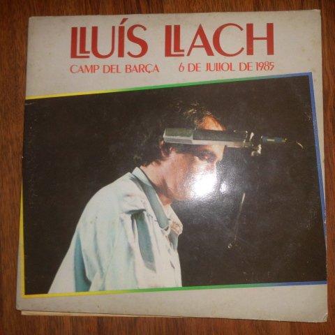 Camp Del Barca, 6 De Juliol De 1985 By Lluis Llach (Ariola Eurodisc // Vinyl )