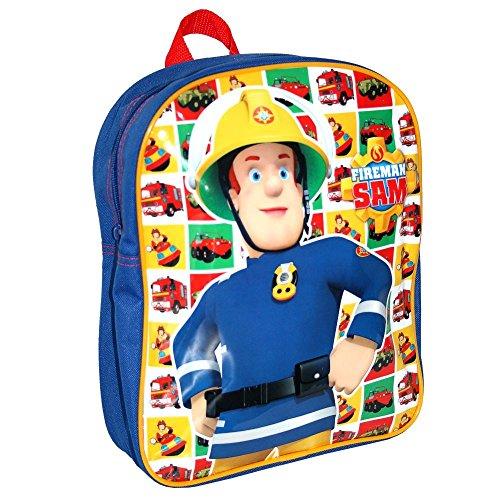 Feuerwehrmann Sam - Kinder Rucksack Kindergartenrucksack Hero 24 x 31 x 9 cm