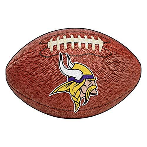 FANMATS NFL Minnesota Vikings Nylon Face Football Rug