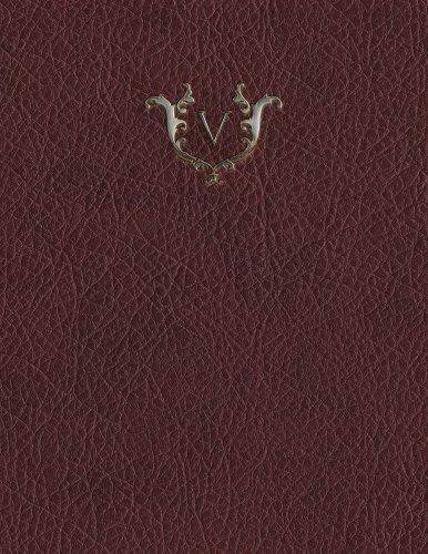 Monogram V Grid Sketchbook (Monogram Red 150 Grid-Sketch) (Volume 22) PDF
