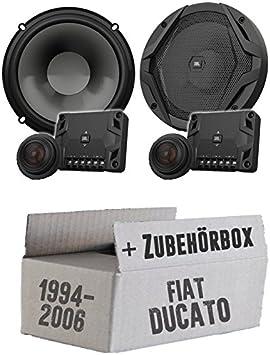 Fiat Ducato 230 244 Front Jbl Gx600 C 16 Cm 2 Way Speakers System Mounting Kit Navigation Car Hifi