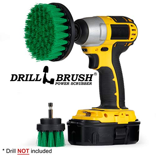 Drill Brush – Brush for Drill – Cleaning Brush for Drill – Drill Brush Set – Drill Brush Power Scrubber – Drill Scrub Attachment – Tile – Grout Brush – Kitchen Accessories – Stove – Pots and Pans