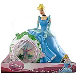 Disney Princess Cinderella Bank Alarm Clock