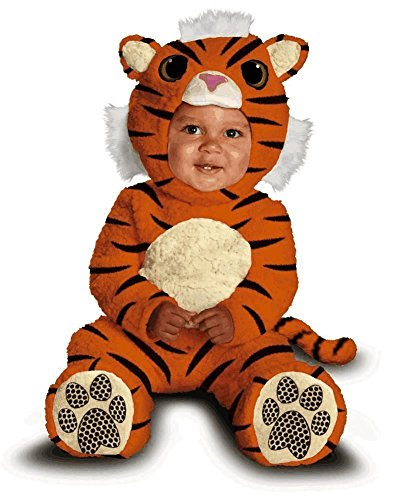 [Disguise Baby's Too Cute To Spook Tiger Cub Costume, Orange Yellow, 12-18 Months] (Cute Tiger Costumes Women)