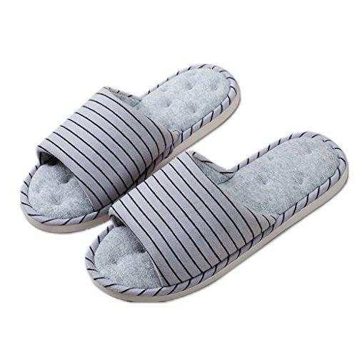 Pantofole Primaverile Dww Lino Da Antiscivolo Cotone Autunnale 2 Pattern Per Domestico Casa Uso E In Casa 77wrxCqnH