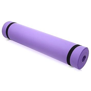Colchoneta yoga/pilates, antideslizante, 6 mm de grosor ...
