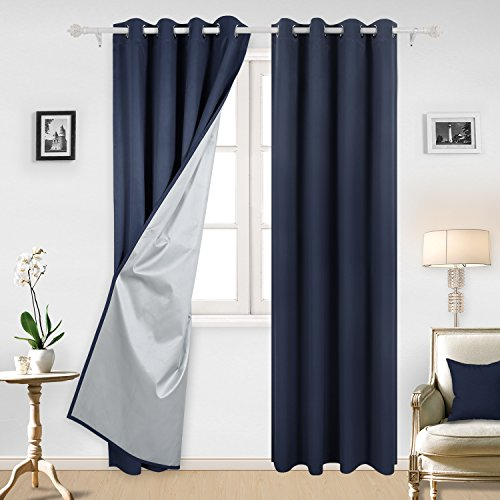 LIGHTENING DEAL! THERMAL INSULATED TOTAL BLACKOUT CURTAINS NOW ONLY $28.43!