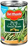 Del Monte Cut Green Beans, 14.5-Ounce (Pack of 24)