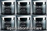 6 Pacinos Hair Grooming Matte Paste - 4 oz jars. 24 oz total