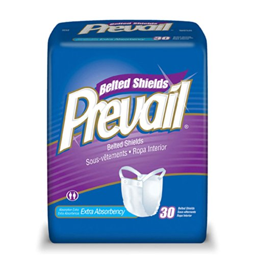 Prevail Belted Undergarment-Extra Absorbency-4 Boxes of 30(120 - Briefs Belted
