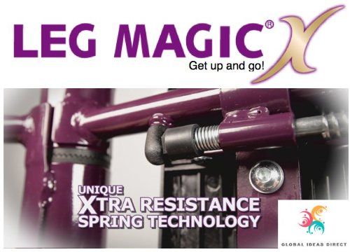 leg magic exercise machine review