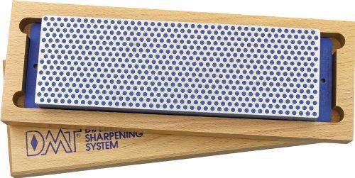 DMT W8C 8-Inch Diamond Whetstone Sharpener, Coarse with Hardwood Box