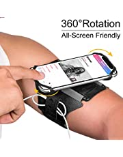 VUP Brassard de Sport pour Telephone Portable et Smartphone iPhone 180°Rotatif