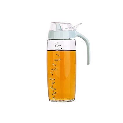 Olla De Aceite De Vidrio Transparente Botella De Aceite Grande Botella De Aceite De Botella De