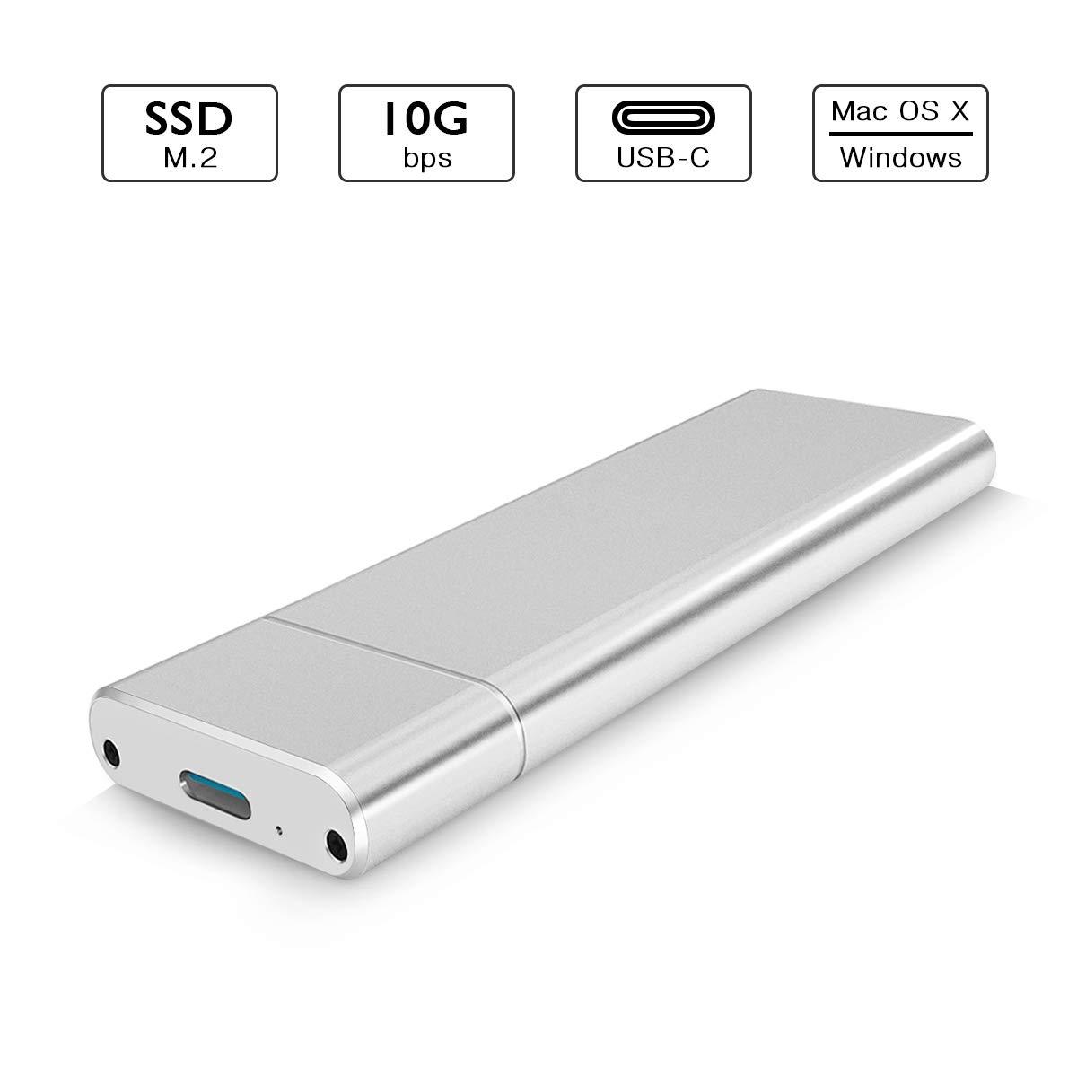 6amLifestyle M2 USB Adapter 10.2 0.8 CM M.2 NGFF USB 3.1 Nero 3