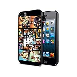 Gta03 Grand Theft Auto V 5 Silicone Cover Case Iphone 5c
