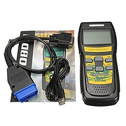 CAN OBDII Auto Diagnostic Tool Scanner Code Reader 15 Pins for Ford  Chrysler Chevy Chevrolet Dodge Cadillac Jeep GMC Pontiac Hummer Lincoln  Buick