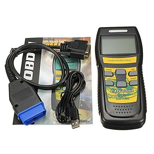 CAN OBDII Auto Diagnostic Tool Scanner Code Reader 15 Pin...