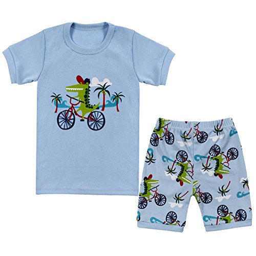 Tkala Fashion Boys Pajamas Children Clothes Set Dinosaur 100  Cotton Little Kids Pjs Sleepwear
