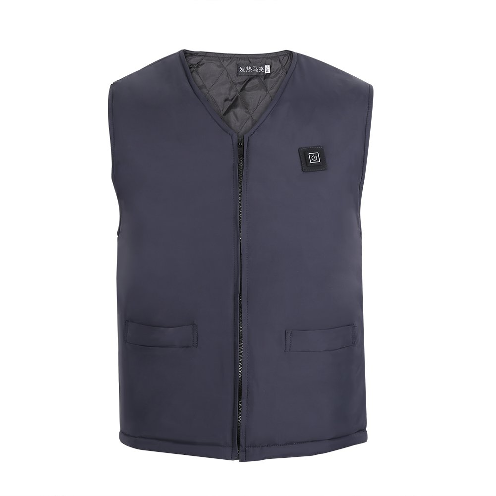 Eboxer Heated Vest, Adjustable Winter Warm Up Jacket Unisex USB Electric Heating Vest Cold Winter.