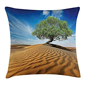 RAINNY Tree of Life Throw Pillow Cushion Cover, Tree in The ...