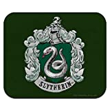 Harry Potter Slytherin Painted Crest Low Profile Thin Mouse Pad Mousepad
