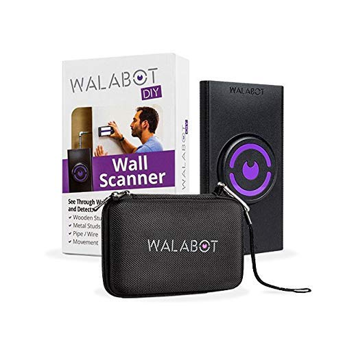 Walabot DIY in Wall Imager for Android Smartphones (NOT Compatible with iPhone) w/Official Protective Case and 8 Piece Accessory Kit, Black