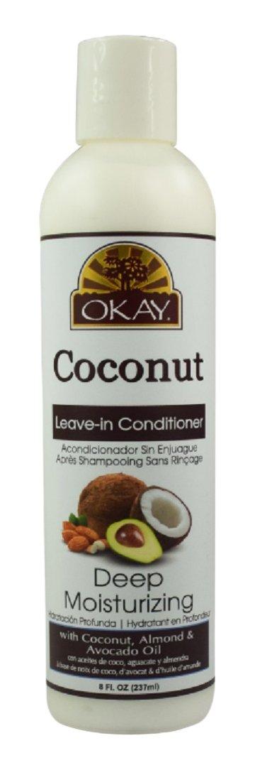 amazon com okay pure naturals coconut shampoo deep moisturizing 12
