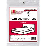 "UBOXES Twin Size Mattress Covers, 40"" x 12"" x 86"" (TWINSCOVER02)"