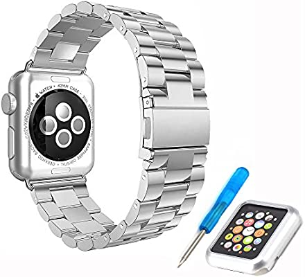 Elespoto Sostituzione Acciaio Inossidabile Cinturino Apple ...