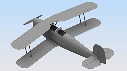 Amazon.com: ICM Airplane BÜCKER BÜ 131B, German Training ...