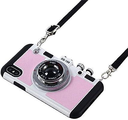 Amazon.com: Umiko (TM) - Carcasa rígida para iPhone X ...