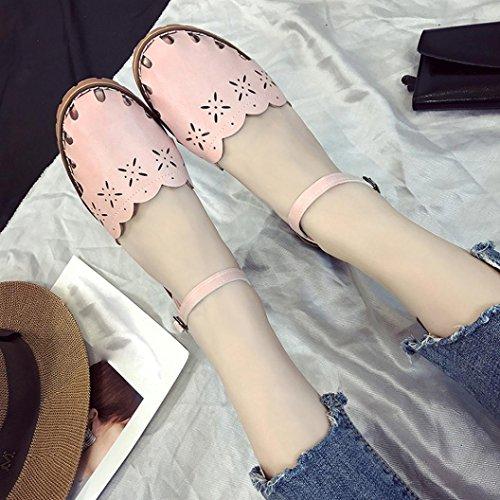 BZLine® Frauen Summer Closed Sandals for Women's Shoe Sandalen Pink